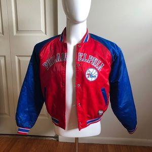 Women's 76ers jacket.